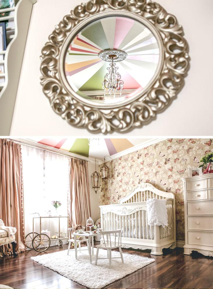 Tiny Little Pads Nahla S Modern Rococo Nursery Reveal