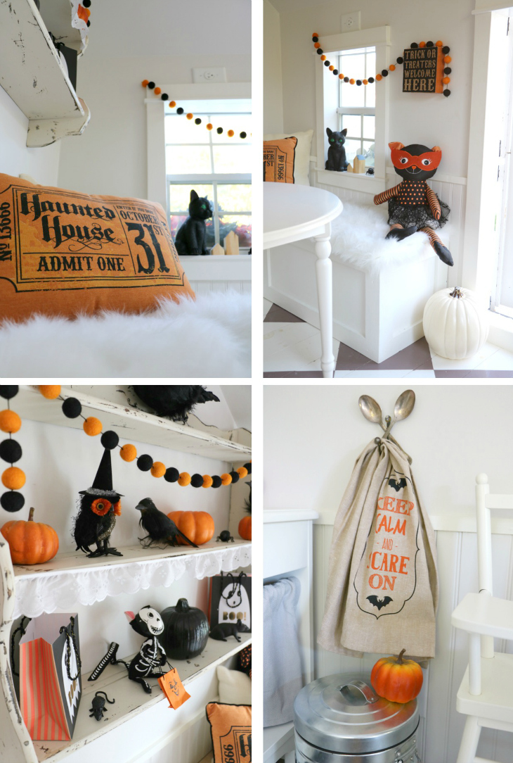 Tiny Little Pads: CELEBRATING A PRE-HALLOWEEN PARTY
